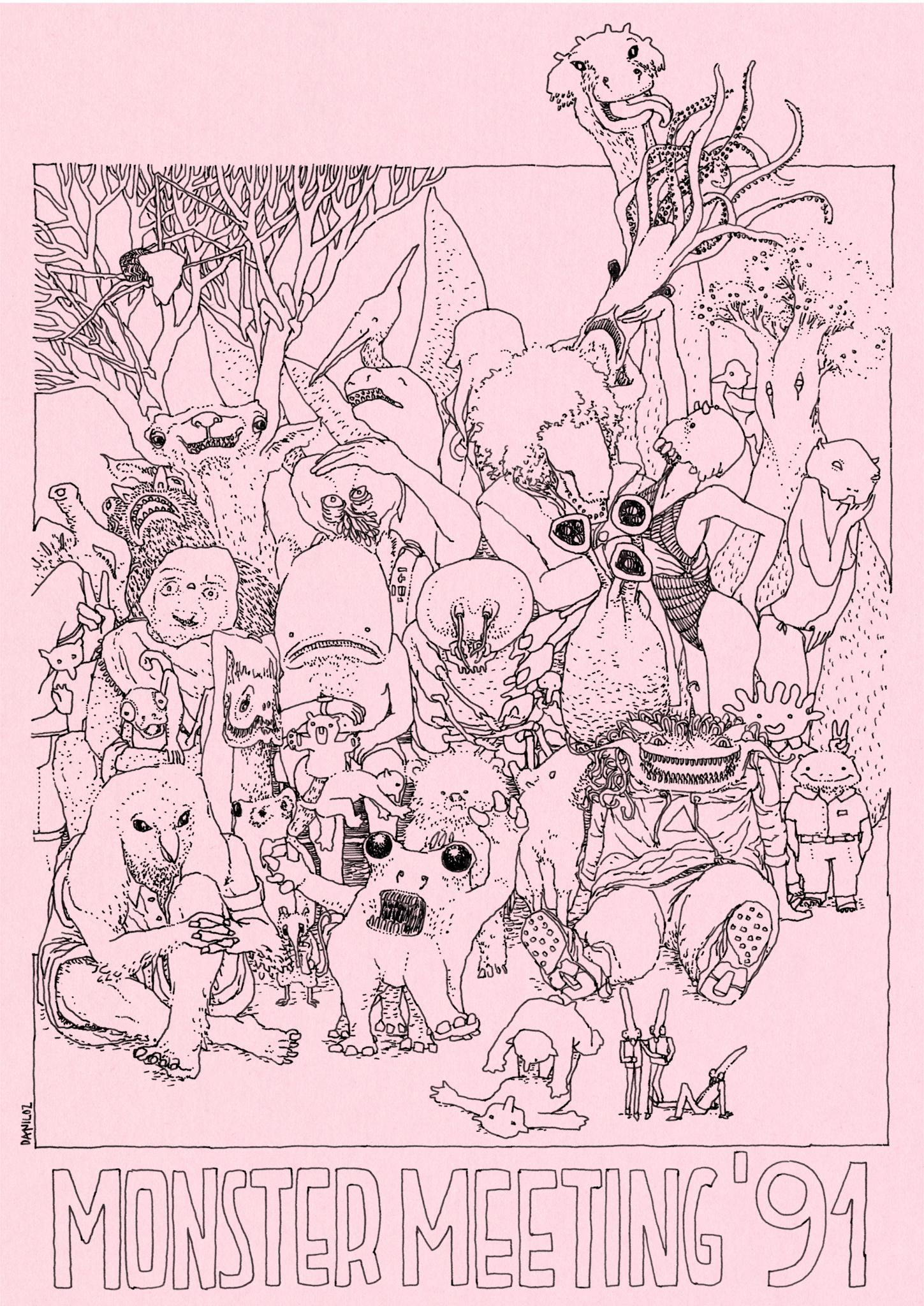 Poster-Monster-Meeting-01-daniloz