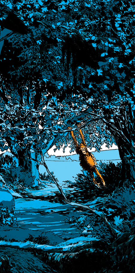 O Bosque Azul