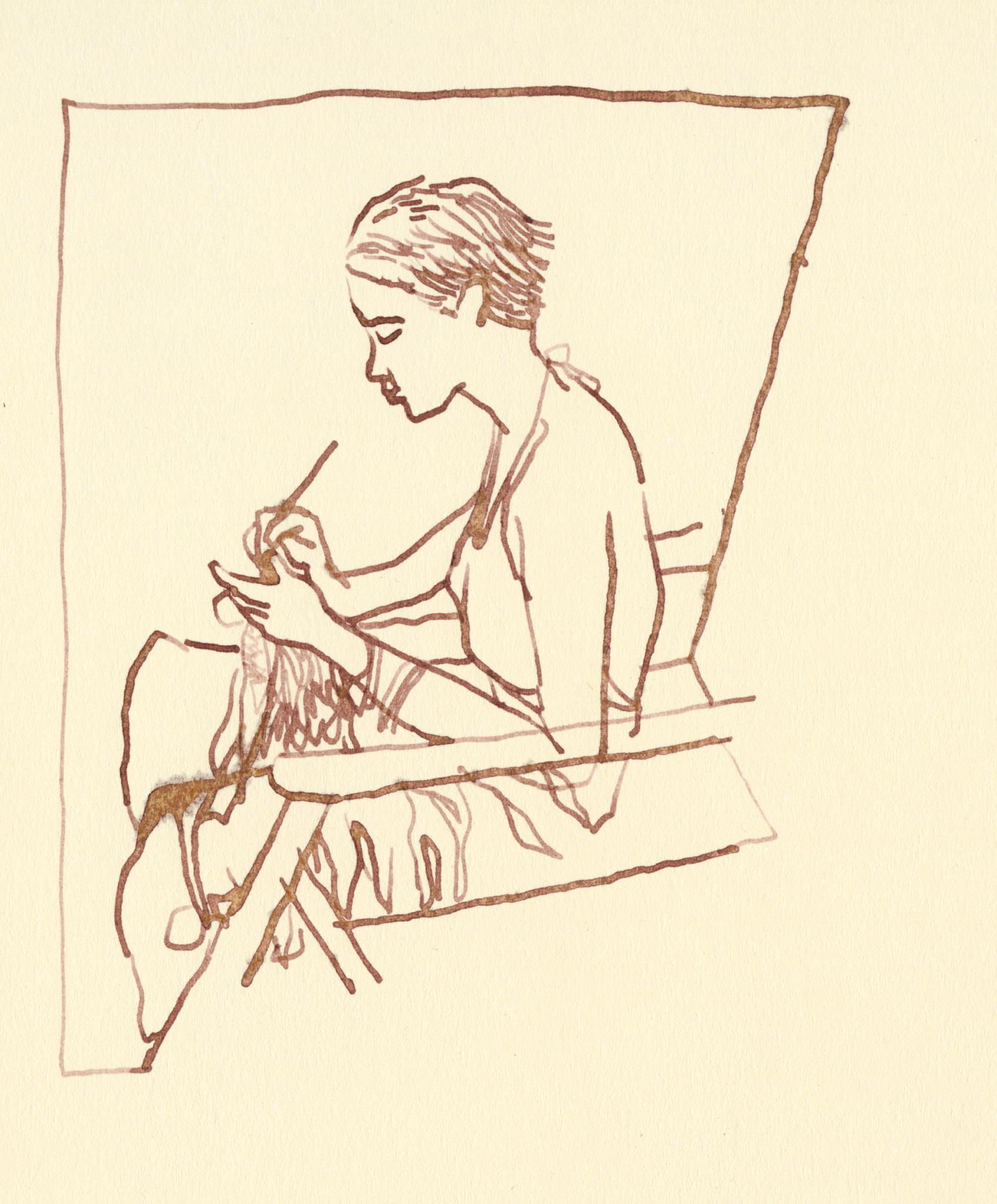 Menina-Sentada