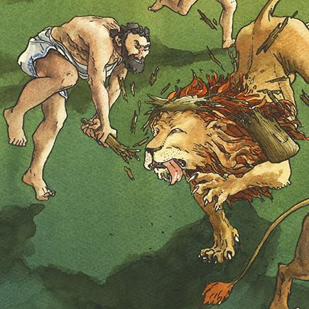 Os 12 Trabalhos de Hércules I – O Leão da Nemeia – FTD